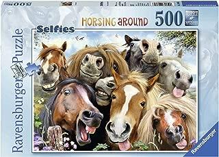 Ravensburger Horse Selfie Jigsaw Puzzle (500 Piece)