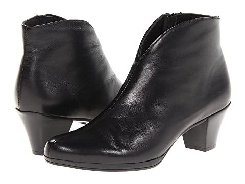 Womens Boots black leather munro robyn st8x21g2