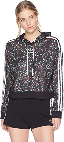 Fashion League All Over Print Hooded Sweater