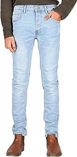 TwoStorey Mens Stretch Denim Slim-Skinny Fit Jeans