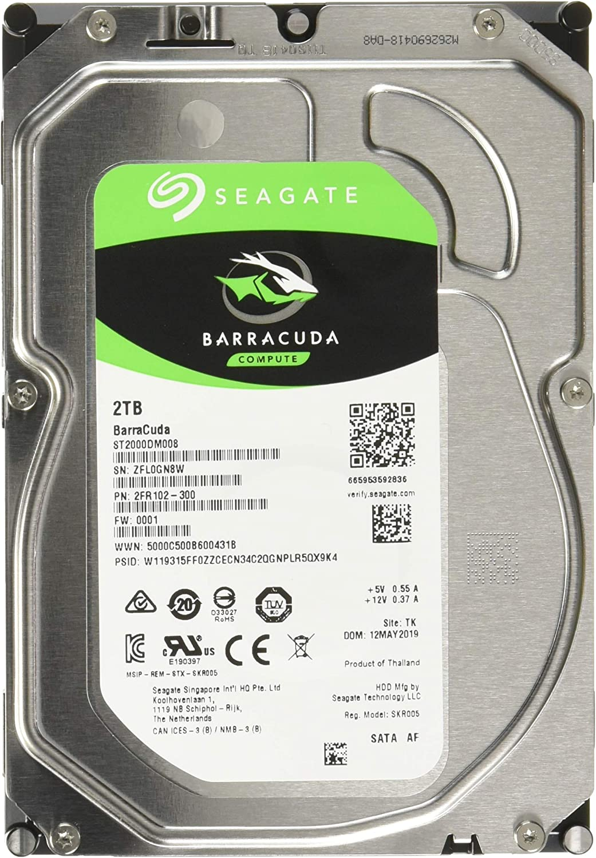 Seagate Barracuda ST2000DM008 2 TB 3.5