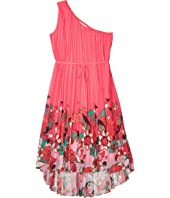 Ive Pinata Dip Hem One Shoulder Maxi Dress