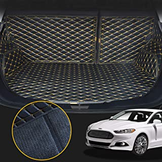 Toryea Waterproof Cargo Mat Full Coverage Fit Ford Fusion 2013 2014 2015 2016