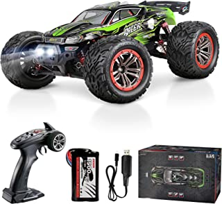 Hosim 9156 46+ KMH High Speed RC Monster Trucks, 1:12 Scale Large Size RC Cars for Adults Boys Kids- Radio Controlled RC Off Road Electronic Hobby Grade Remote Control Cars(Green)