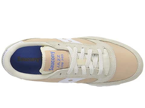 Tan Low Saucony Pro Blanco Originals 1 Jazz 6vpnv