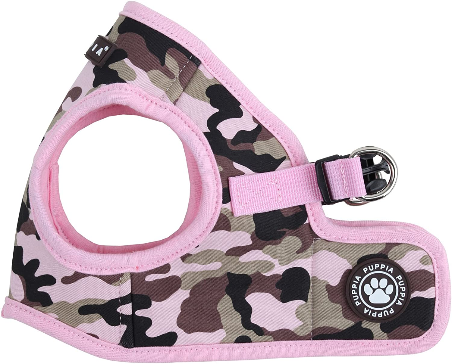 Puppia Authentic Puppia Legend Harness B, Pink, Large
