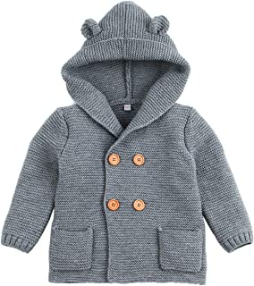 Fairy Baby Baby Boy Girl Knit Cardigan Sweater Jacket Cartoon Hoodies Long Sleeve Coat