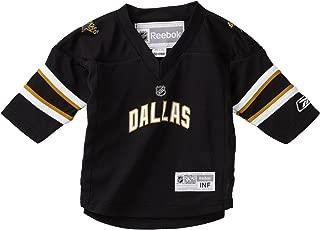 NHL Infant Dallas Stars Team Color Replica Jersey - R52Hwbii (Black, 12-24 Months)