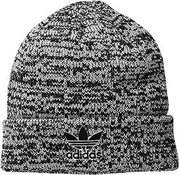 73a73ac1fc0 Adidas trefoil knit beanie heather grey
