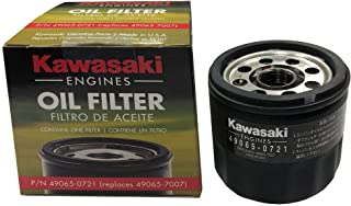 Kawasaki 49065-0721 Oil Filter Replaces 49065-7007