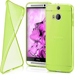 MoEx® Funda [Transparente] Compatible con HTC One M8 | Ultrafina y Antideslizante - Vert