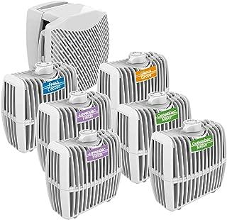 Oxygen Powered Air Freshener Starter Kit - Dispenser + Six 30 day cartridges