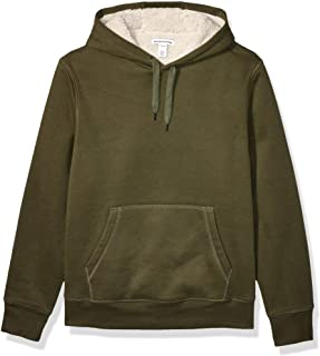 Men's Standard Sherpa-Lined Pullover Hoodie Sweatshirt