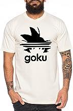 WhyKiki Adi Goku Camiseta de Hombre Dragon Master Son Ball