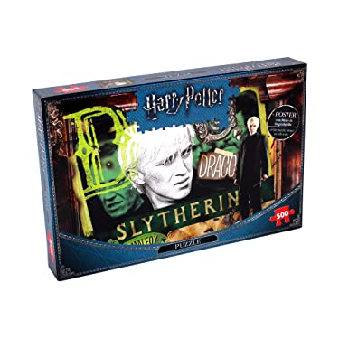 Harry Potter 11156 Warner Brothers Puzzle, Slytherin 500PC