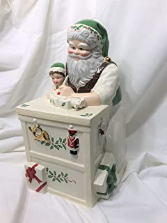 Best lenox santa cookie jar collection Reviews