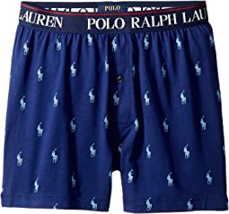 All Over Pony Player Slim Fit Knit Boxer