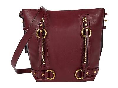 Rebecca Minkoff Jett Bucket Bag (Cherrywood) Handbags