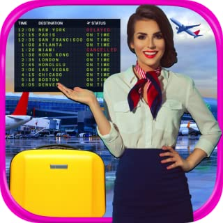 Real Airport & Flight Attendant Simulator - Kids Cash Register, Flight & Airplane Games FREE