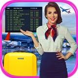 Real Airport & Flight Attendant Simulator - Kids Cash Register, Flight &...