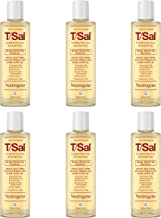 Neutrogena T/Sal Therapeutic Shampoo for Scalp Build-Up Control with Salicylic Acid, Scalp Treatment for Dandruff, Scalp Psoriasis & Seborrheic Dermatitis Relief, 4.5 fl. oz (Pack of 6)