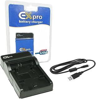 EX-Pro LP-E10, LPE10, LC-E10E, LCE10E (Compatible con cargadores LC-E8 C y cargador USB Base & Cable only for Canon