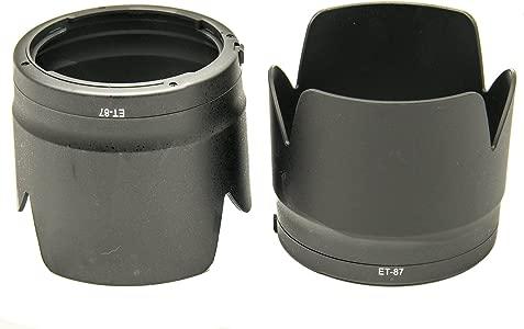 PROtastic Replacement ET-87 ET87  Black  Petal Lens Hood     PACK     ...