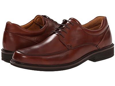 ECCO Holton Apron Toe Tie (Cognac) Men