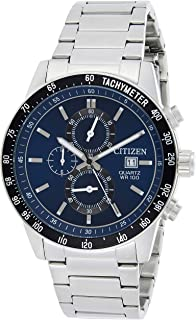 Citizen Mens Quartz Watch, Analog Display and Stainless Steel Strap AN3600-59L