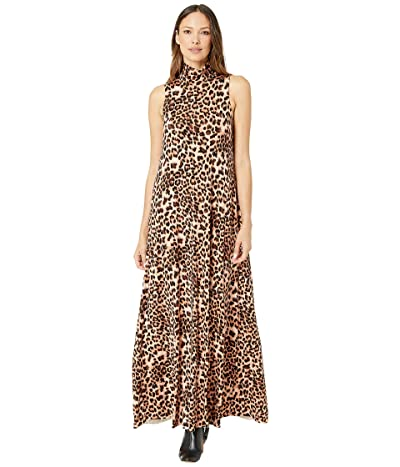 Rachel Pally Jersey Cait Dress (Leopard) Women