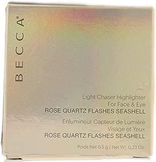 BECCA Light Chaser Highlighter Rose Quartz Flashes Seashell .23oz