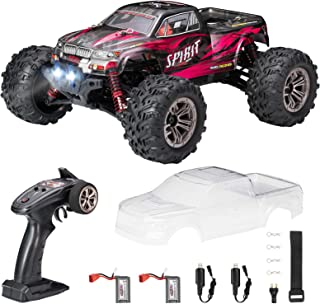 Hobby RC Cars, FLYHAL 9135 Pro Remote Control Car RC Cars for Adults 30+MPH 45km/h 4WD Professional IPX4 Waterproof 1:16 Scale Super Fast RC Cars Moster RC Trucks 4x4 Off Road 2 Batteries
