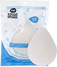MY Konjac Sponge All Natural Original Pure Facial Sponge for All Skin Type