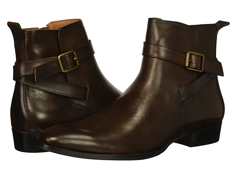Steve Madden Sacha (Brown Leather) Men