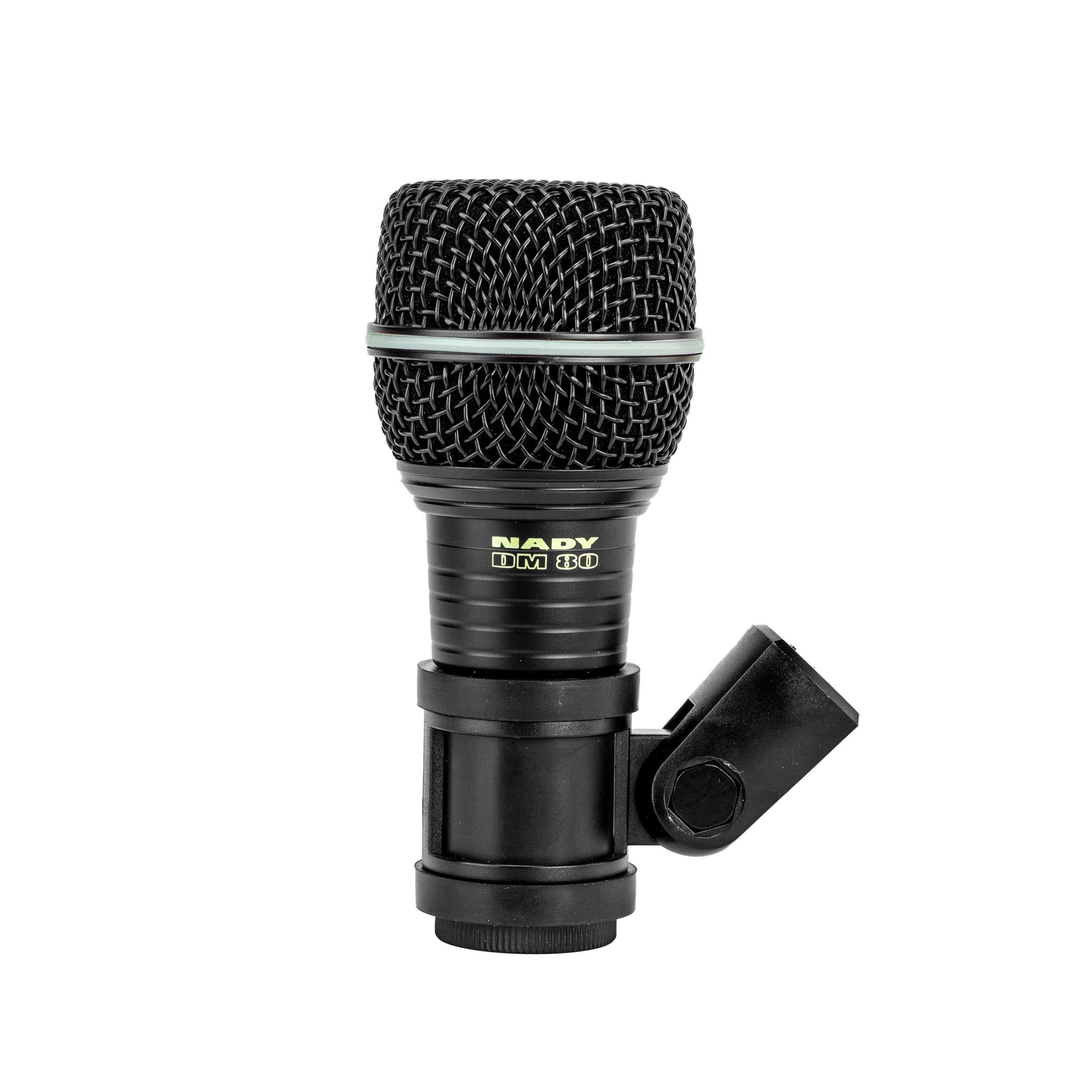 Nady DM 80 Drum Microphone construction