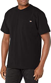 Dickies Men's Short Sleeve Heavyweight Crew Neck Pocket T-Shirt