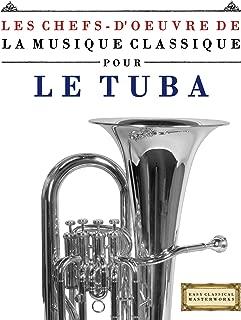 Les Chefs-d'oeuvre de la Musique Classique pour le Tuba: Pièces faciles de Bach, Beethoven, Brahms, Haendel, Haydn, Mozart, Schubert, Tchaïkovski, Vivaldi et Wagner (French Edition)