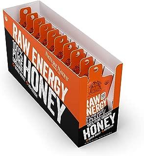 Nature Nate's Organic Honey, Raw Energy, 100 Calorieper Packet, 10 Packetsper Box
