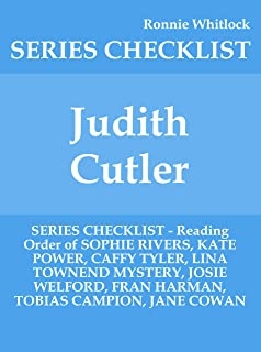 Judith Cutler - SERIES CHECKLIST - Reading Order of SOPHIE RIVERS, KATE POWER, CAFFY TYLER, LINA TOWNEND MYSTERY, JOSIE WELFORD, FRAN HARMAN, TOBIAS CAMPION, JANE COWAN