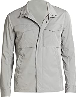 Theory Men's Terrial Bevan Light Gray Lightweight Jacket Medium
