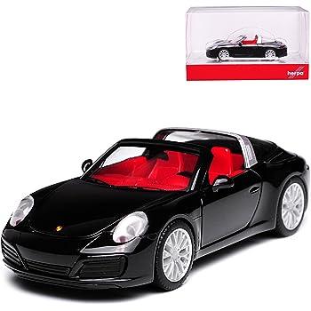 Herpa Porsche 911 Targa 4S schwarz 028905-1:87