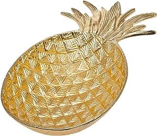 Godinger Gold Finish Pineapple Bowl