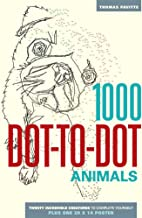1000 Dot-to-Dot: Animals PDF