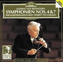 Beethoven: Symphonies Nos. 4 & 7 ~ Karajan