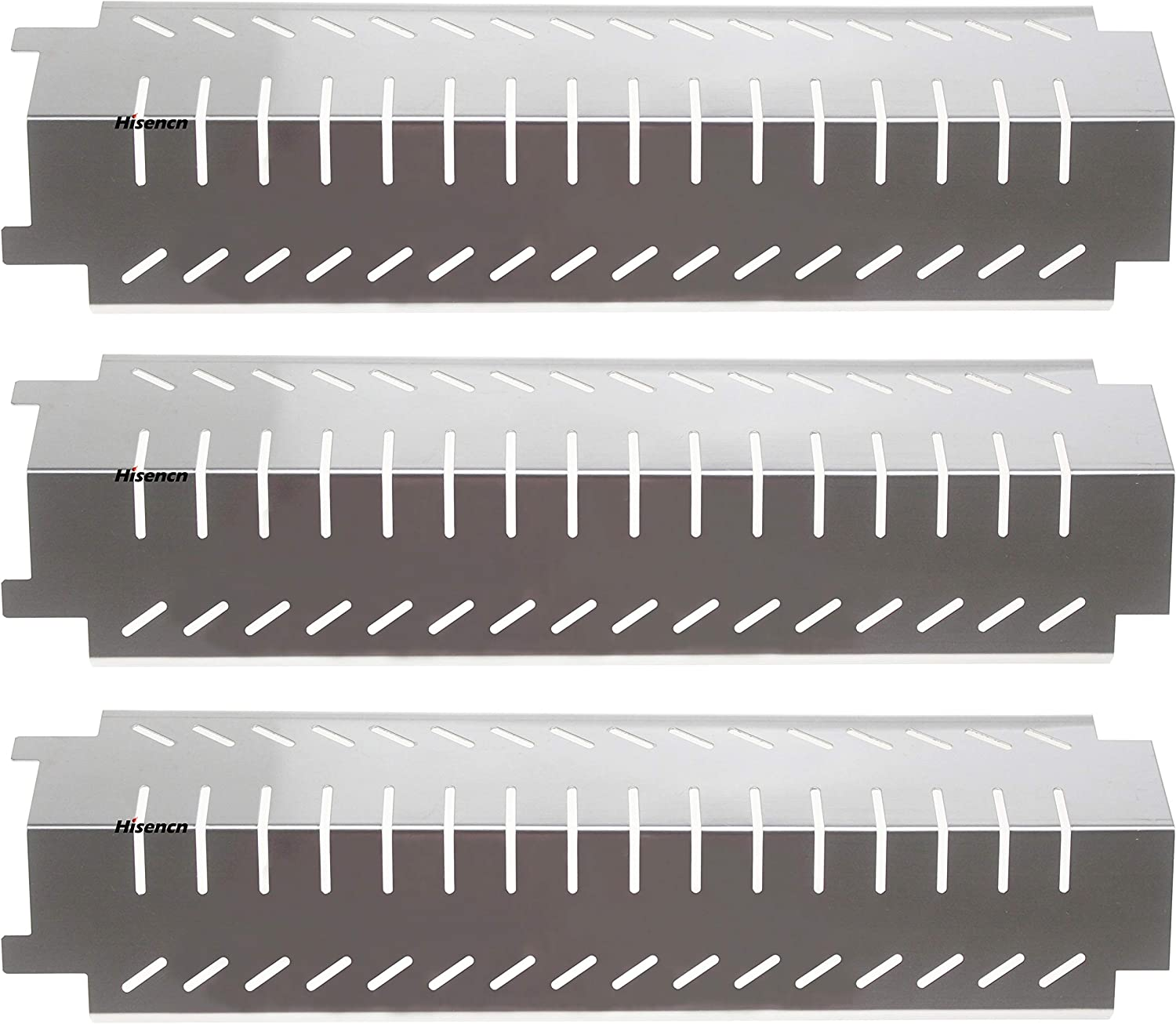 Fashion Hisencn 3-Pack Non-Magnetic Stainless Steel Plate Grill Heat Re Max 79% OFF