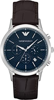 Emporio Armani Men's AR2494 Dress Brown Leather Watch