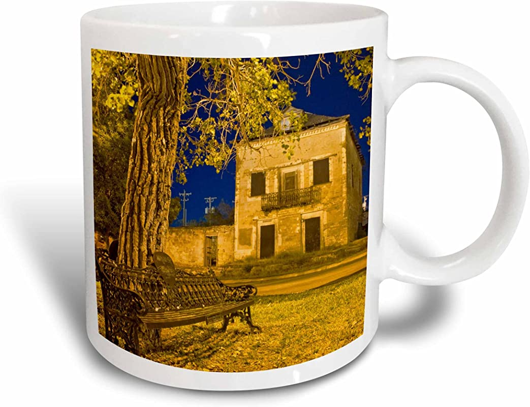 3dRose 94466 1 Cottonwood Tree Mug 11 Oz White