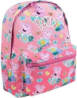 Peppa Pig Todo la impresión Mochila Rosa Lindo los niños