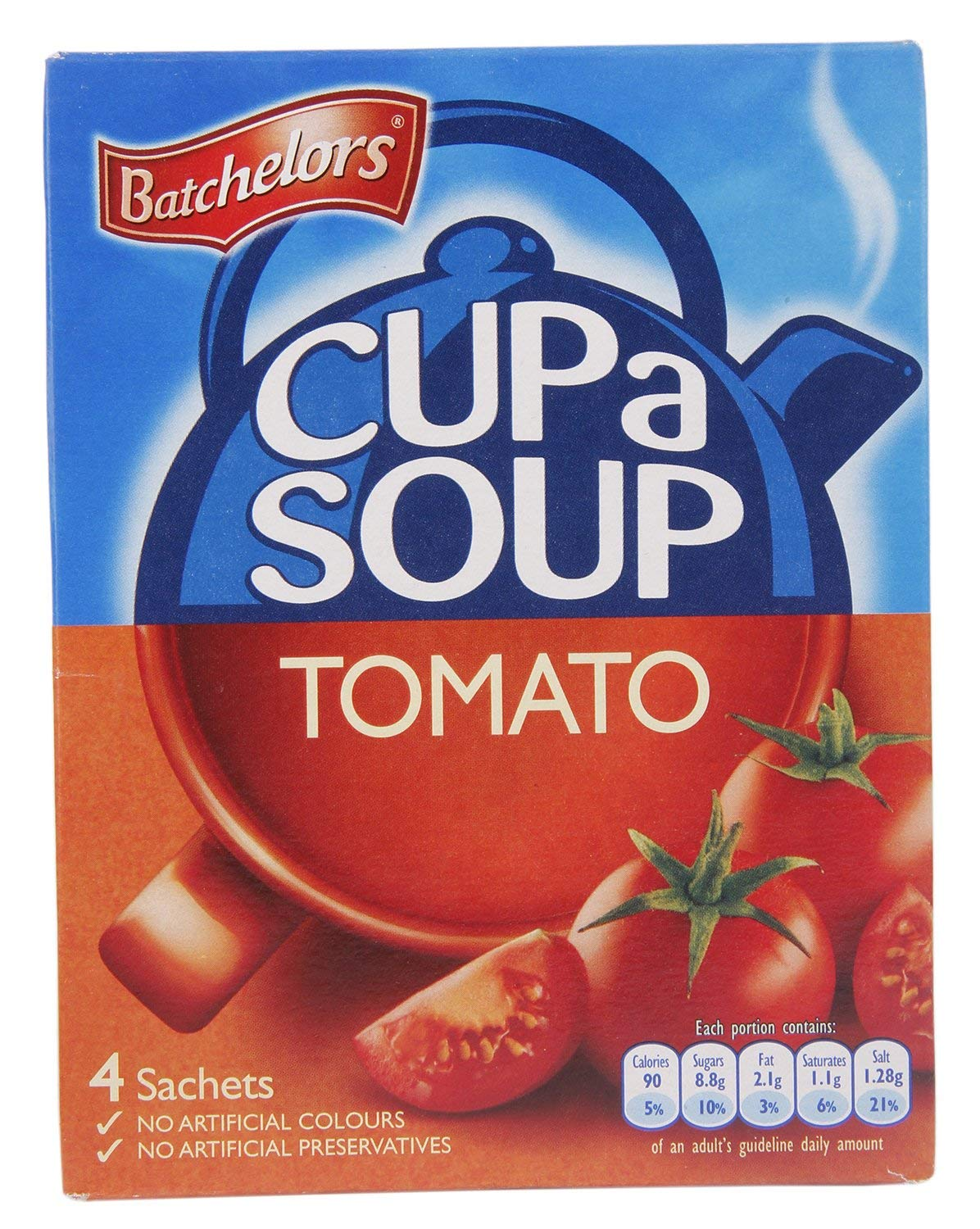 Batchelors Max 47% OFF Cup a Soup Tomato Financial sales sale OF - 93g 4 SET