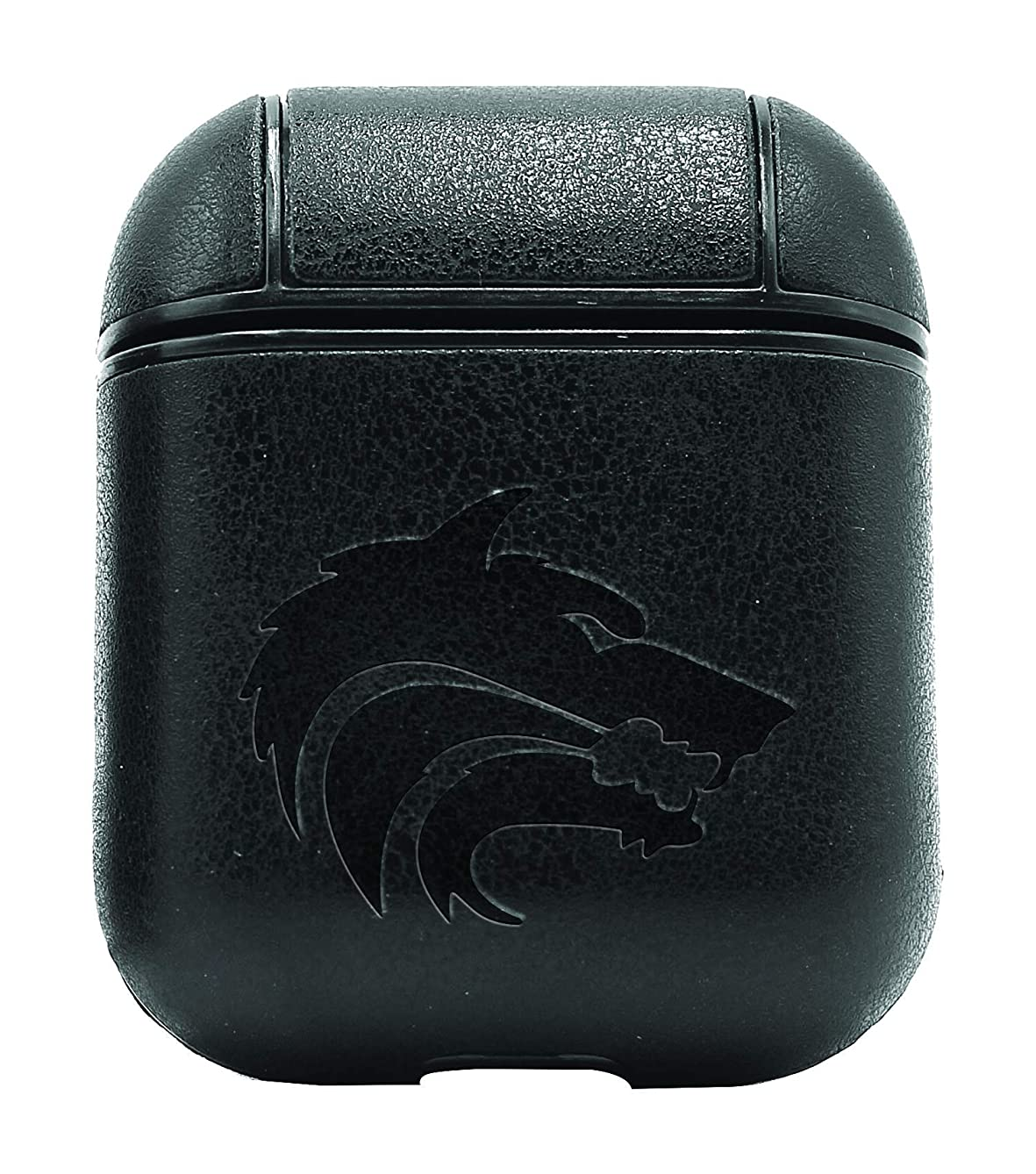 ICON Wolf Game of Thrones (Vintage Black) Air Pods Protective Leather Case Cover - a New Class of Luxury to Your AirPods - Premium PU Leather and Handmade exquisitely by Master Craftsmen